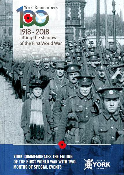 York Remembers poster