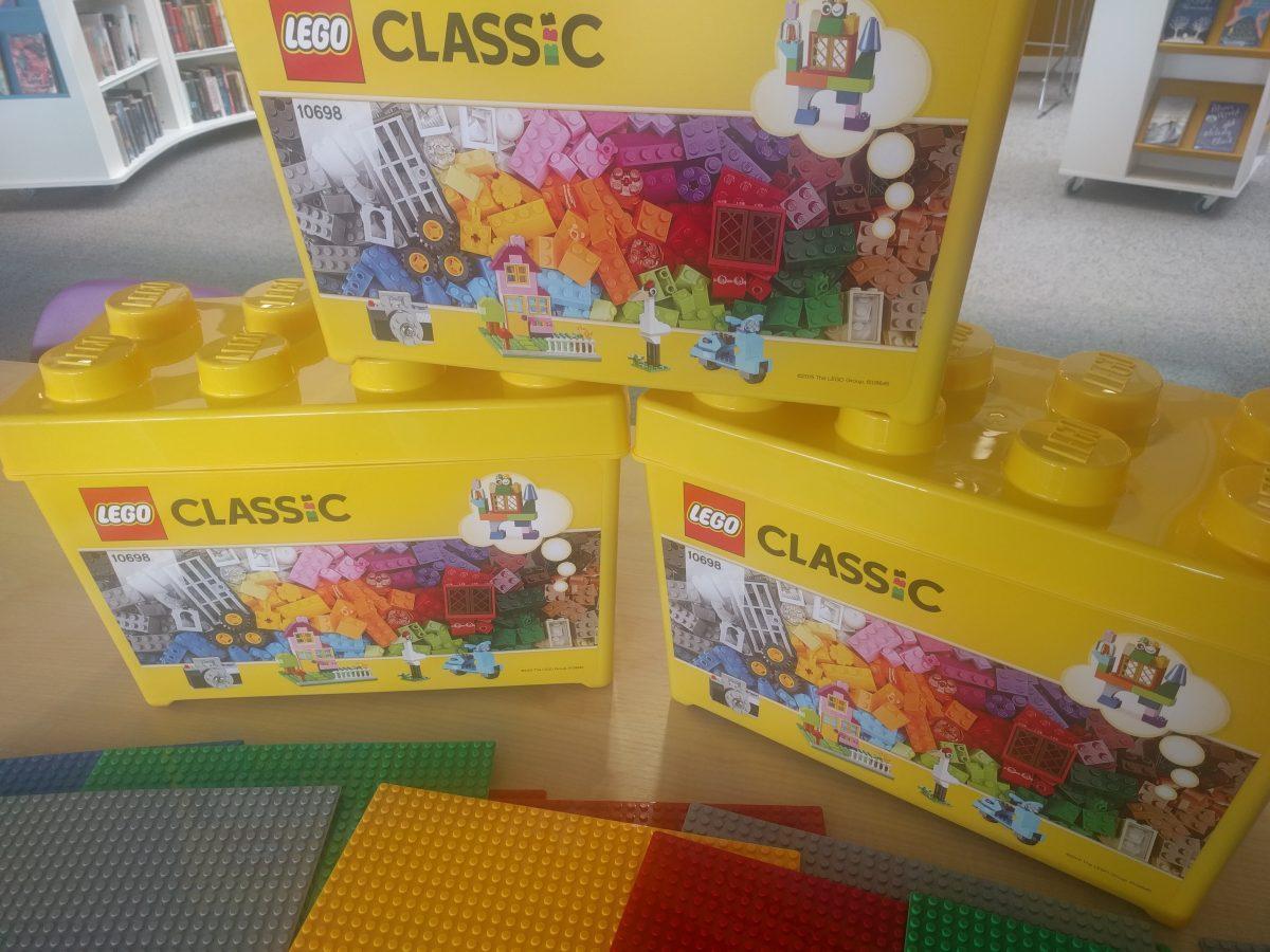 Crates of Lego