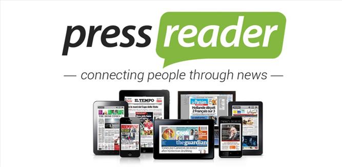 press reader logo