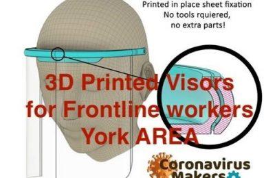 Coronavirus Visors Poster